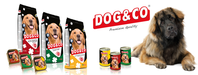 Italian pet food dry and wet for dog Dog&Co