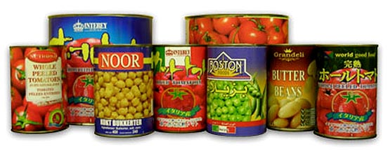 Private label for canned tomatoes beans and legumes