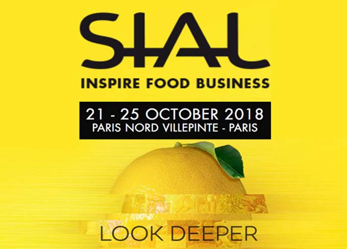 Welcome to Sial 2018 in Paris !